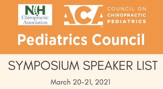 Chiropractic Pediatrics Seminar – March 2021